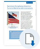 Sanctions Compliance Attention Turns to Maritime Administrations